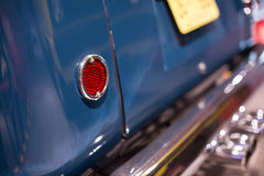 Classic cars. Lights close-up of the first part of Royalty Free Stock Images