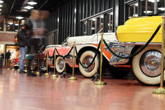 Classic cars museum Royalty Free Stock Photography
