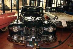 Classic cars in museum Stock Photos