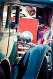 Classic cars parade. Royalty Free Stock Image