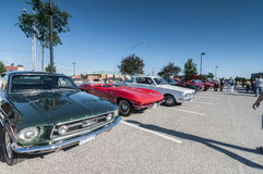 Classic cars show Stock Photo