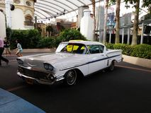 Classic cars at Universal Studios. Royalty Free Stock Images