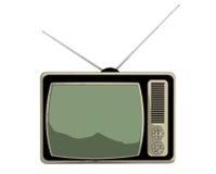 Classic cartoon vintage TV Stock Photo