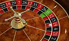 Classic casino roulette Royalty Free Stock Photography