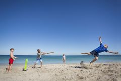 Classic Catch Cricket Royalty Free Stock Images