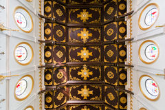 Classic ceiling of Christ church. In thailand Stock Images