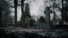 Cross Tombstone Cemetery