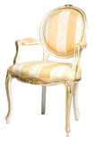 Classic chair. Isolated at the white background Stock Photos