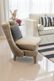 Classic chair style in luxury living room Royalty Free Stock Images