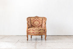 Classic chair style in vintage room Stock Photography