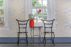 Classic chair and table Royalty Free Stock Images