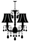 Classic Chandelier Royalty Free Stock Image