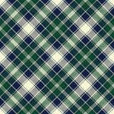 Classic check plaid seamless pixel fabric texture Stock Photo