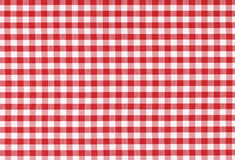 Classic checkered tablecloth texture