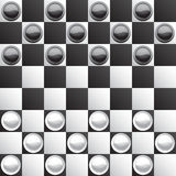 Classic checkers Stock Photography