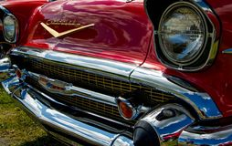 Classic Chevrolet Bel-Air Royalty Free Stock Images