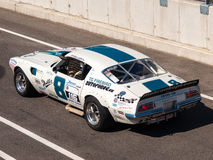 Classic Chevrolet Camaro race car Stock Images