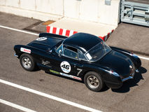 Classic Chevrolet Corvette race car Royalty Free Stock Image