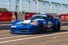 Classic Chevrolet Corvette race car Stock Image