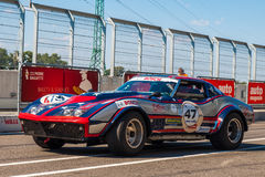 Classic Chevrolet Corvette race car Stock Photography