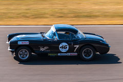 Classic Chevrolet Corvette race car Stock Photo