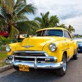 Classic Chevrolet  in Havana Stock Images