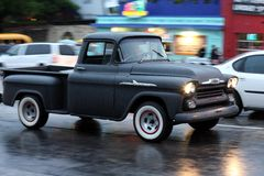 Classic chevrolet truck apache Stock Images