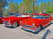 Classic Chevrolets Stock Photo