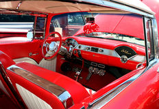 Classic Chevy Belaire Interior Royalty Free Stock Image