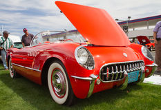 Classic 1955 Chevy Corvette Automobile Stock Image