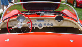 Classic 1955 Chevy Corvette Automobile Royalty Free Stock Images
