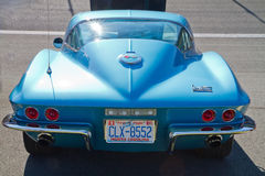 Classic 1967 Chevy Corvette Automobile Royalty Free Stock Photos