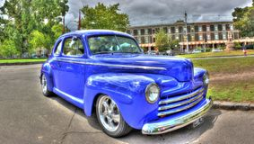Classic 1946 Chevy Coupe Stock Photography