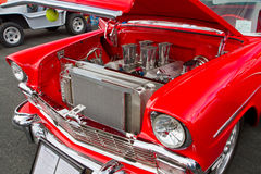Classic 1956 Chevy Hot Rod Stock Photography