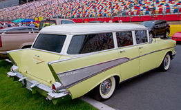 Classic 1957 Chevy Station Wagon Stock Photos