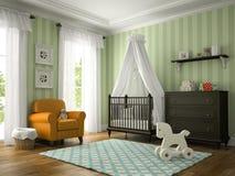 Classic children room Stock Images