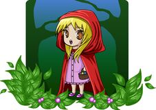Classic Children's Stories - Red Riding Hood Stock Photos