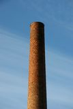 Classic chimney. Old classic redbrick chimney Royalty Free Stock Image