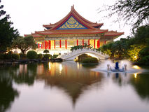 Classic Chinese architecture Stock Images