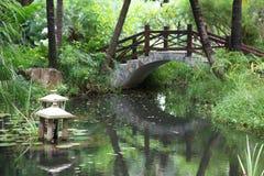 Classic chinese garden Stock Photo