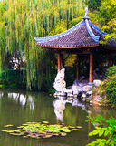 Classic Chinese pavilion, Hangzhou Royalty Free Stock Images