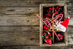Classic Christmas background royalty free stock photos