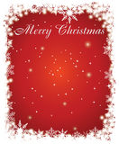 Classic Christmas Card Royalty Free Stock Images
