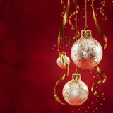 Classic Christmas. Digital Composite of Christmas Decoration Royalty Free Stock Photography