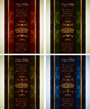Classic Christmas Greetings background Royalty Free Stock Images