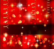 Classic Christmas Greetings background Stock Images