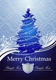 Classic Christmas tree Stock Photos
