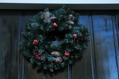 Classic christmas wreath Stock Photography