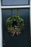 Classic christmas wreath Stock Photo