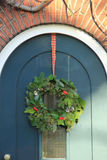 Classic christmas wreath Royalty Free Stock Photo